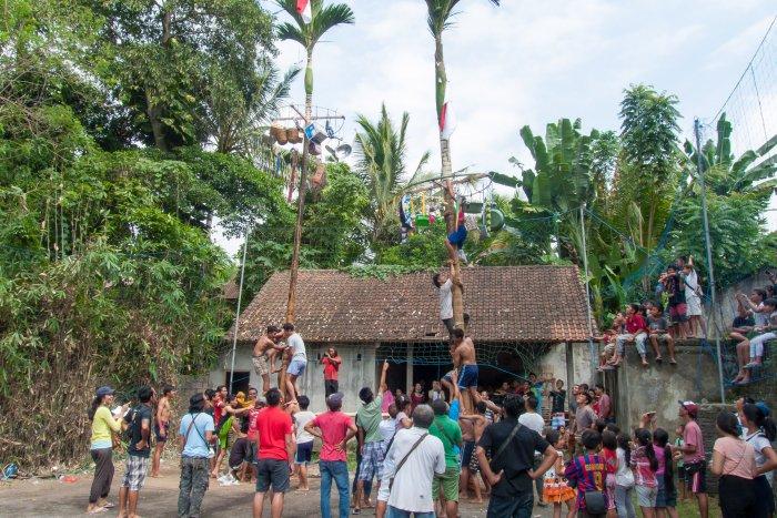 Fête de l'indépendance à Ubud, Bali