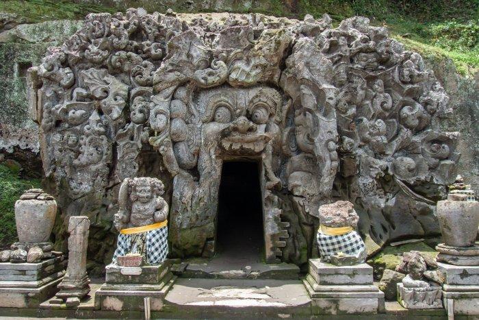 Grottes Goa Gajah, Bali