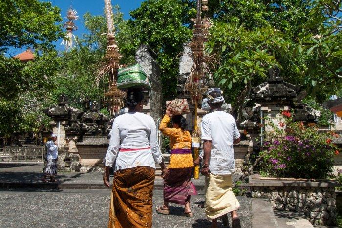 Temple d'Uluwatu, Bali