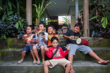 Enfants indonésiens