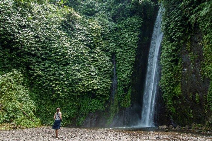 Cascade Laagan, Munduk, Bali