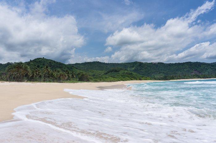 Plage de Mekaki, Lombok, Indonésie