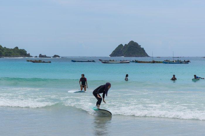 Surf à Selong Belanak, Lombok