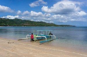 Jukung à Lombok