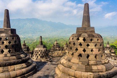 Bobobudur, Indonésie