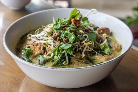 Curry coco végétarien