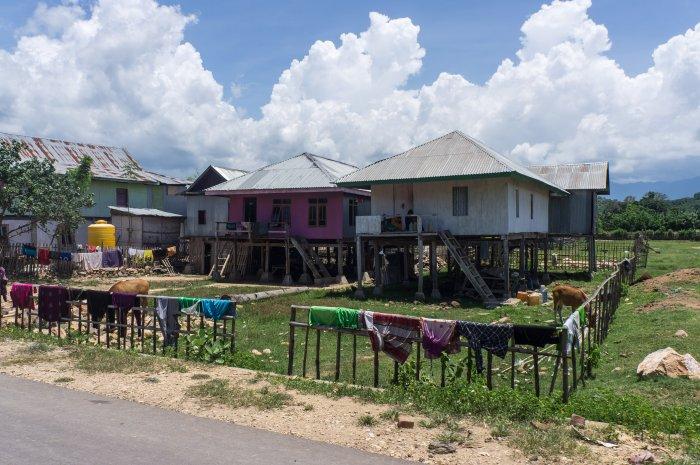 Maisons traditionnelles de Flores, Indonésie
