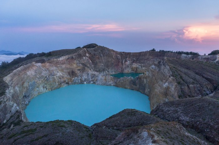 Volcan Kelimutu, Florès, Indonésie