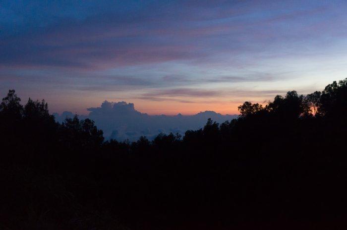 Coucher de soleil à Moni, Florès