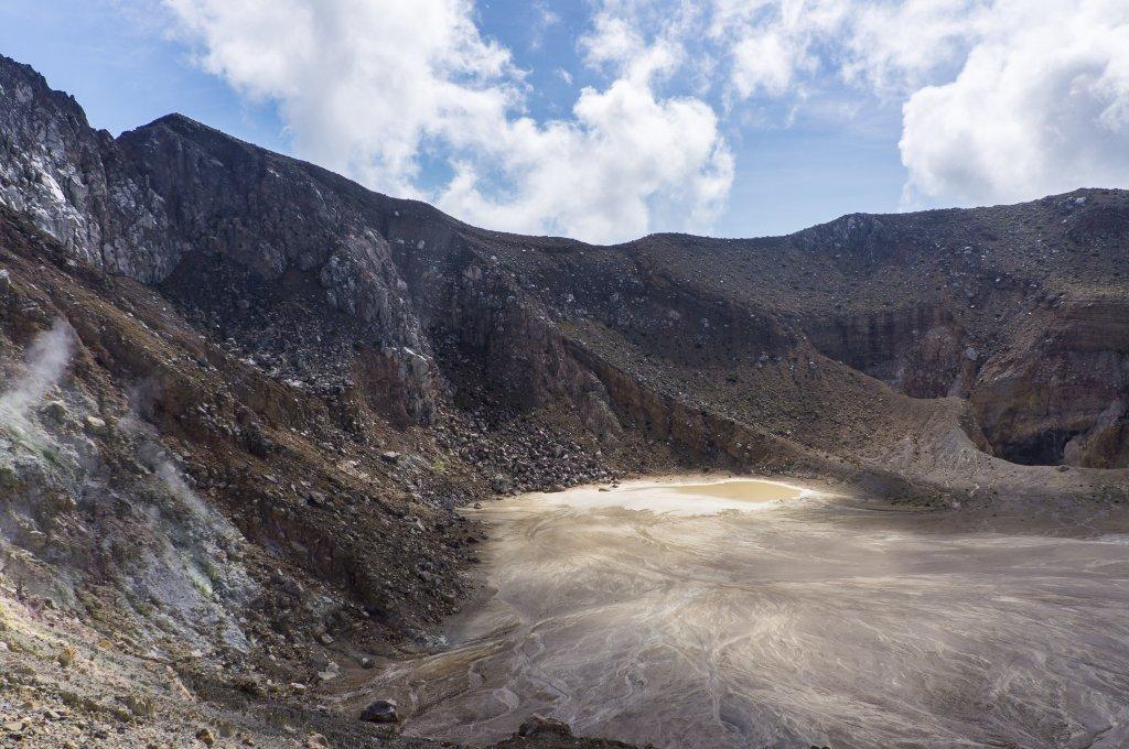 Cratère du volcan Egon, Florès