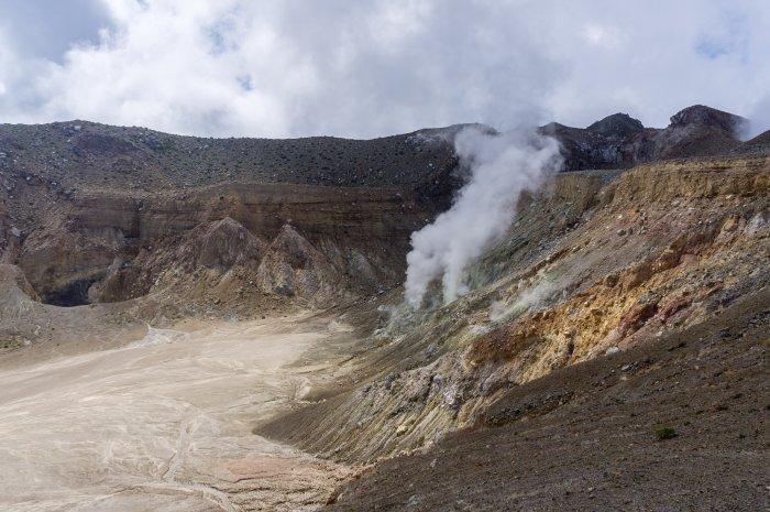 Volcan Egon, Florès, Indonésie