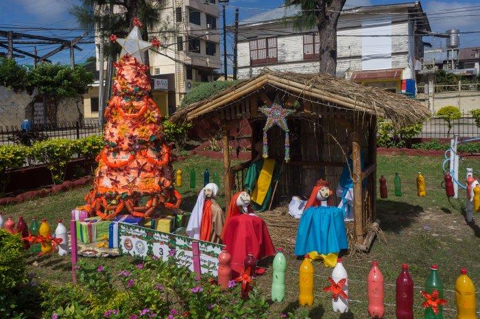 Crèche de Noël aux Philippines