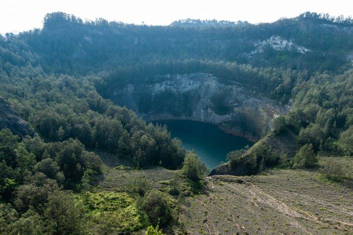 Le 3e lac du Kelimutu