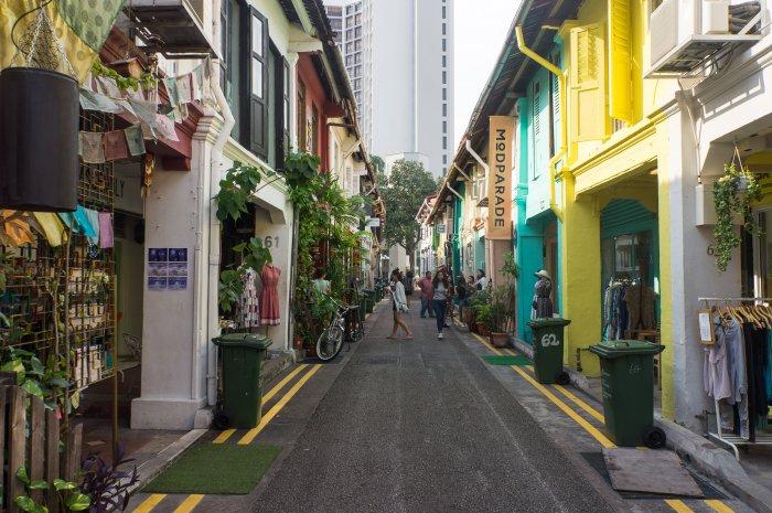 Haji Lane, Singapour