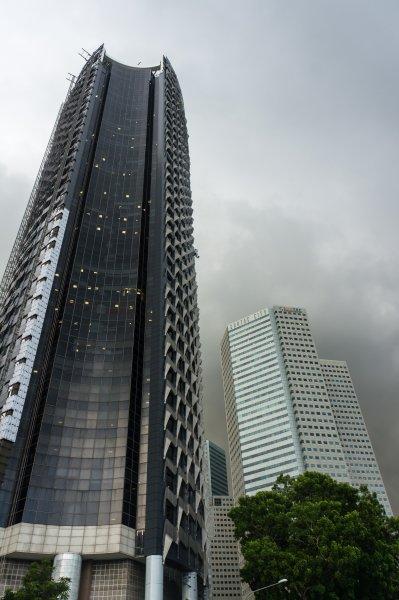 Gratte-ciel à Singapour