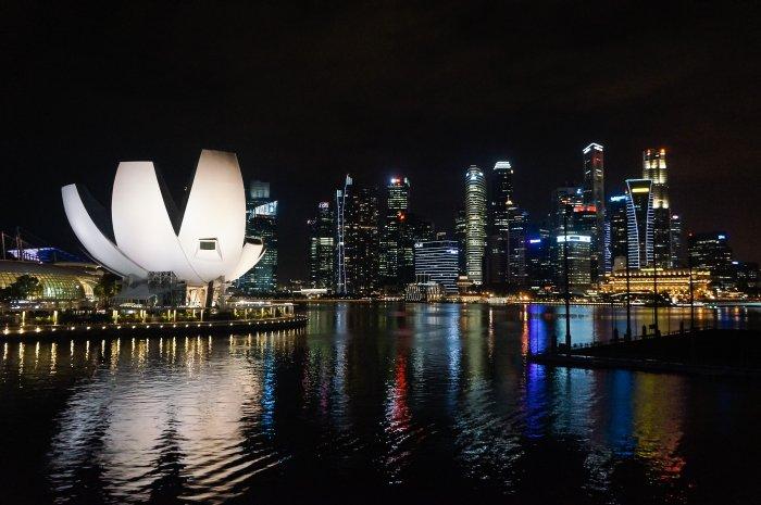 Marina bay, Singapour