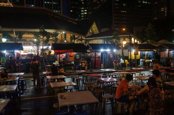 Stands de rue, Singapour