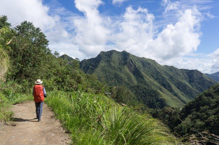 Chemin jusqu'à Batad, Philippines