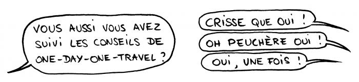 Dessin : One Day One Travel