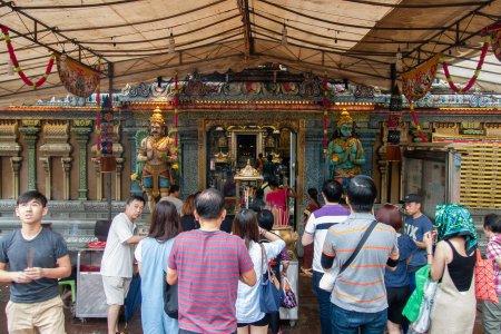 Temple hindou, Singapour