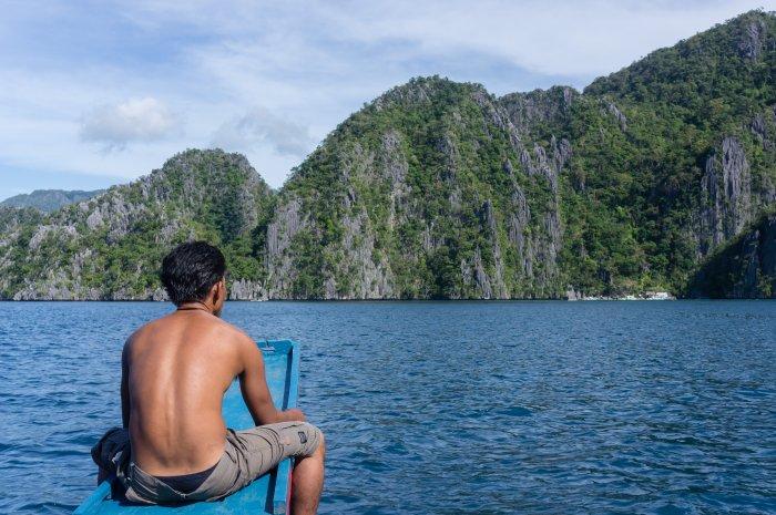 Tour en bateau à Coron