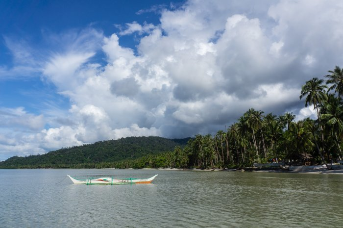 Plage de Port Barton, Palawan, Philippines