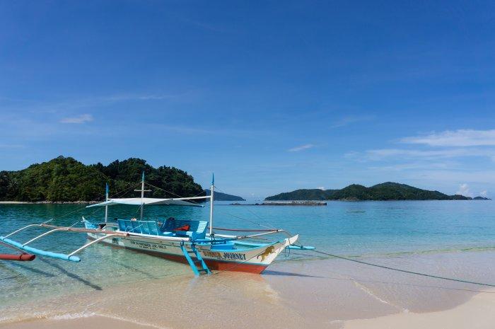 Île près de Port Barton, Palawan