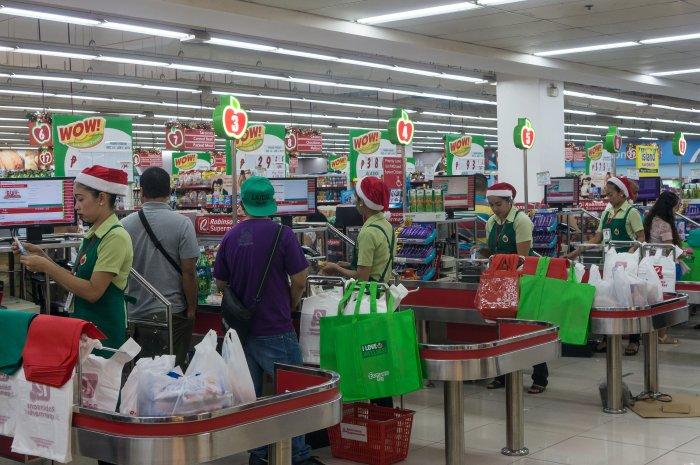 Supermarché à Dumaguete
