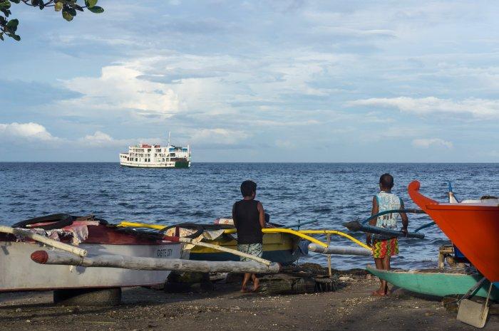 Bord de mer à Negros, Philippines