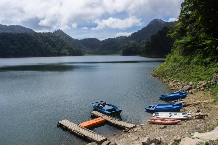 Twin lakes, Negros, Philippines