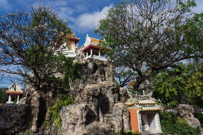 Wat Prayurawongsawat, Bangkok, Thaïlande