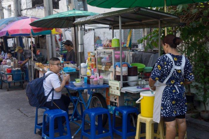 Street food à Bangkok
