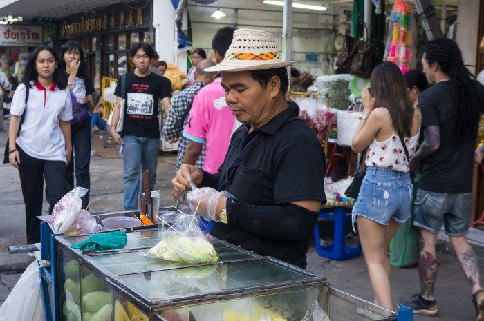 Nourriture de rue à Bangkok, Thaïlande