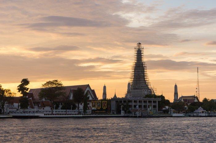 Temple Wat Arun, Bangkok, Thaïlande