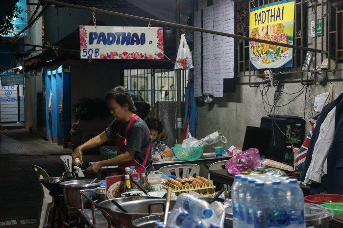 Pad thaï, Bangkok