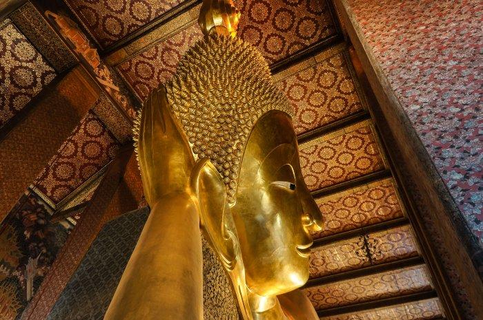 Bouddha couché, Wat Pho, Bangkok