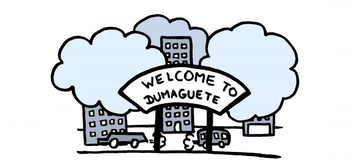 Dumaguete, ville polluée