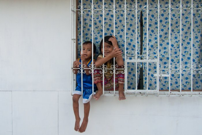 Petits Philippins à Coron