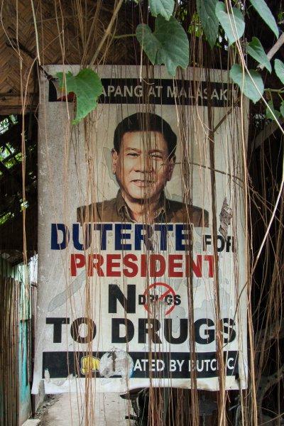 Affiche de Duterte