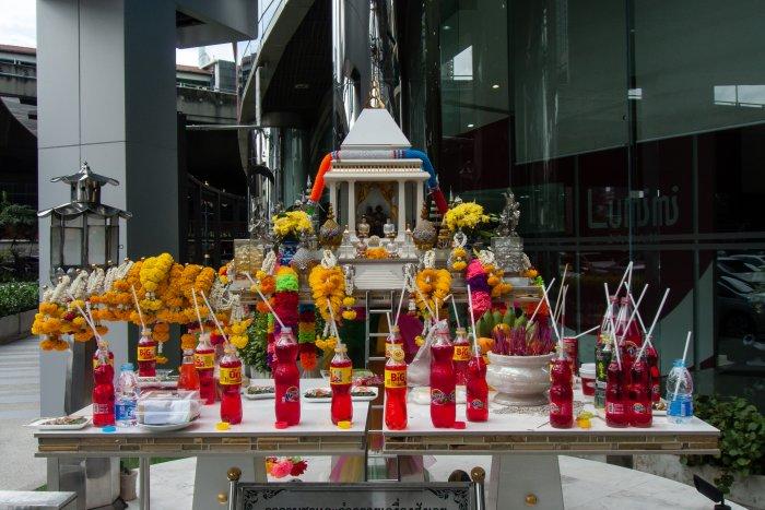 Offrandes de Fanta, Bangkok