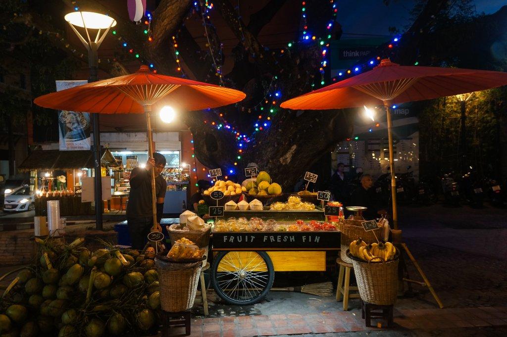 Marché de nuit, Nimman, Chiang Mai