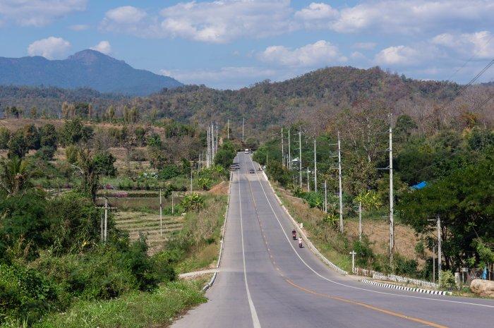 Route vers Pai, Thaïlande