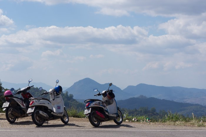 Excursion en scooter vers Pai