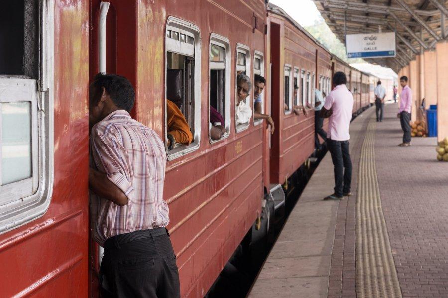 Gare à Galle, Sri Lanka