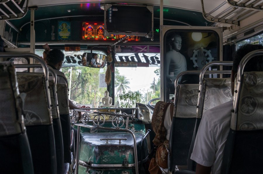 Bus au Sri Lanka