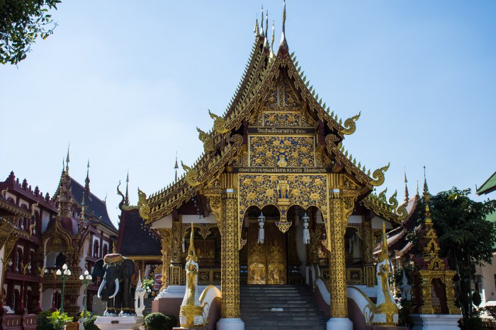 Wat Saen Muang Ma Luang, Chiang Mai