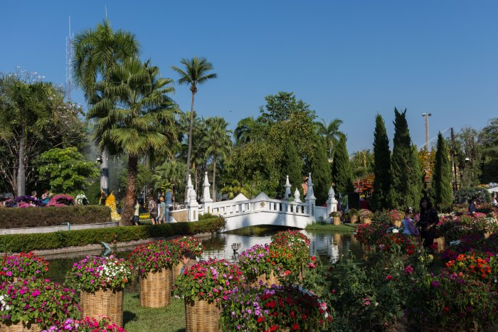 Buak Hard Park, Chiang Mai, Thaïlande