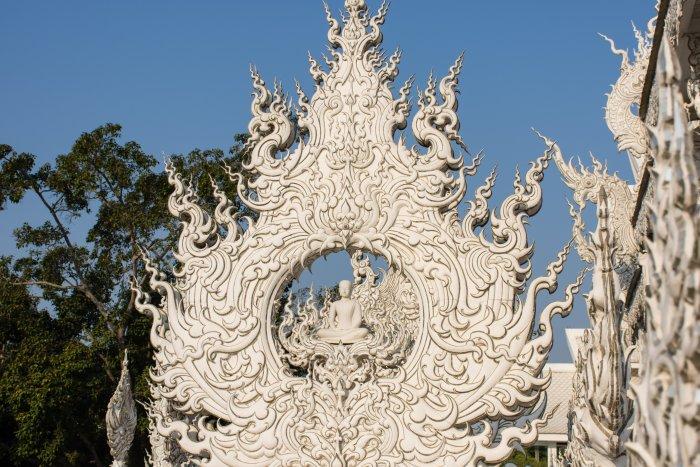 White temple, Chiang Rai