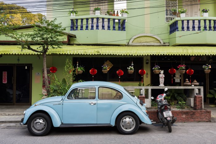 Rue de Chiang Mai, Thaïlande