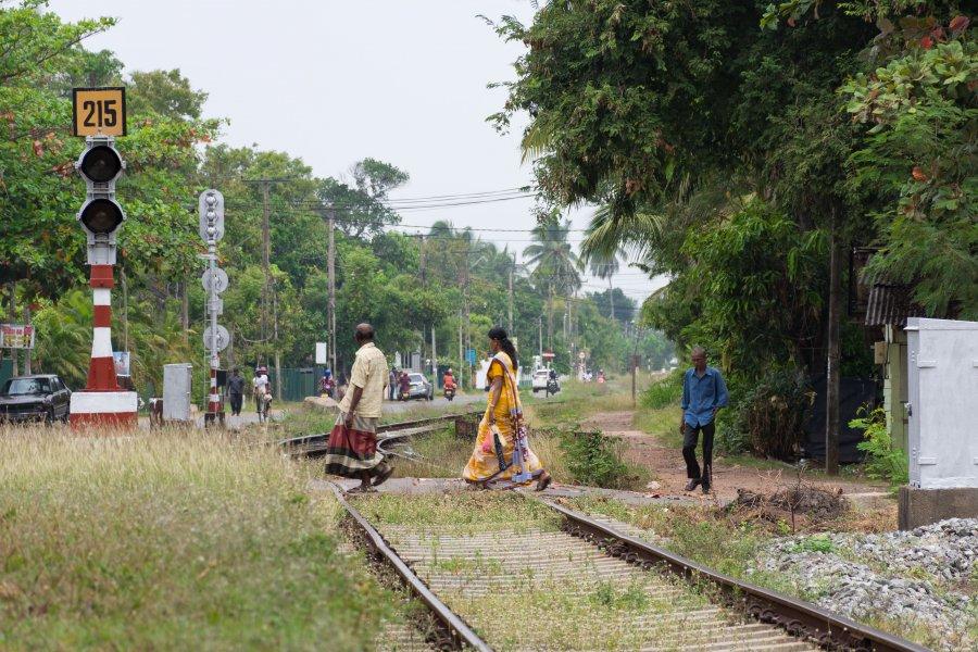 Gare de Kurana, Negombo, Sri Lanka